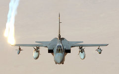 Истребитель британских ВВС Tornado. Фото с сайта wikipedia.org