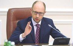 Яценюк выступил против прекращения огня на условиях Путина