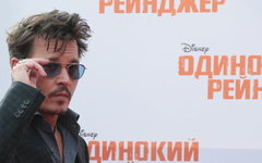 Джонни Депп © РИА Новости, Екатерина Чеснокова
