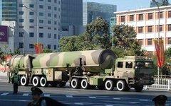 DF-31. Фото с сайта armyrecognition.com