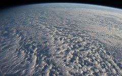 Вид на Тихий океан из космоса. Фото с сайта nasa.gov