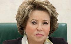 Валентина Матвиенко. Фото пользователя Flickr Совет Федерации