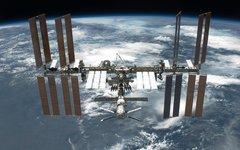 Международная космическая станция. Фото с сайта nasa.gov