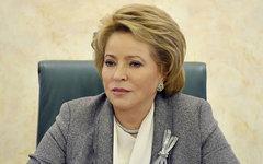Валентина Матвиенко. Фото с сайта wikimedia.org