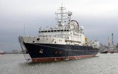 Научно-исследовательское судно «Янтарь». Фото с сайта bastion-opk.ru