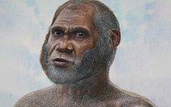 Человек из Оленьей пещеры в представлении художника. Фото Peter Schouten с сайта