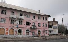 Последствия обстрела в Углегорске © РИА Новости