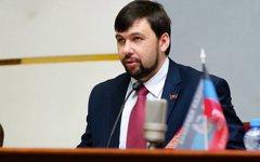 Денис Пушилин. Фото с сайта http://dnr-sovet.su/