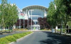 Штаб-квартира «Apple» в Купертино. Фото с сайта wikimedia.org