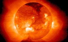Солнце в рентгеновских лучах. Фото с сайта wikimedia.org
