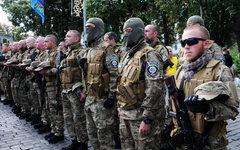 Добровольцы украинского батальона «Сич» © РИА Новости, Александр Максименко