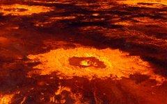 Кратеры на поверхности Венеры. Фото NASA с сайта wikimedia.org