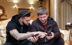 Тимати и Рамзан Кадыров. Фото kadyrov_95