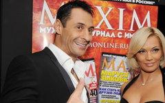Стас Костюшкин с супругой © РИА Новости, Константин Чалабов