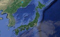 Япония со спутника. Изображение с сайта google.ru