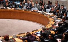 Заседение Совета Безопасности ООН. Фото с сайта un.org