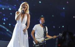 Полина Гагарина. Фото Andres Putting с сайта eurovision.tv