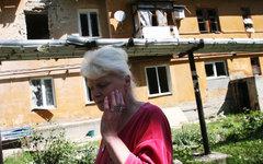 Жительница Донецка © РИА Новости, Игорь Маслов