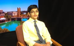 Танишк Абрахам. Фото с личной страницы в Twitter