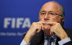 Президент ФИФА Йозеф Блаттер. Фото с сайта wikimedia.org