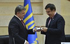 Петр Порошенко и Михаил Саакашвили © РИА Новости, Николай Лазаренко