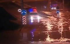 Наводнение в Тбилиси. Стоп-кадр с видео в YouTube