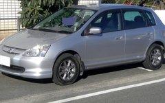 Honda Civic седьмого поколения. Фото Kuha455405 с сайта wikimedia.org