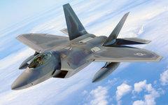 F-22. Фото с сайта wikimedia.org