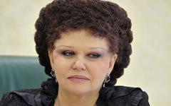 Валентина Петренко. Фото с сайта council.gov.ru