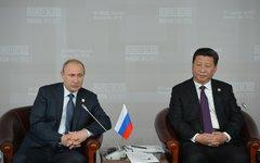Владимир Путин и Си Цзиньпин © РИА Новости, Рамиль Ситдиков