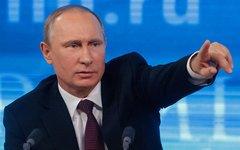 Путин предложил выдвинуть Блаттера на Нобелевскую премию
