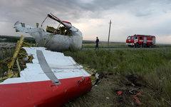 Обломки лайнера © РИА Новости