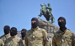 Бойцы батальона «Азов» © РИА Новости, Евгений Котенко