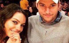 Мила Кунис и Эштон Катчер. Фото пользователя Instagram @kunismilax