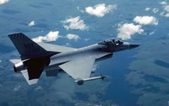 Истребитель F-16. Фото с сайта worldweapon.ru