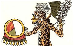 Ацтекский воин-ягуар. Фото с сайта wikimedia.org