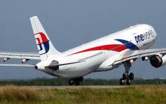 Самолет авиакомпании Malaysia Airlines. Фото с сайта malaysiaairlines.com