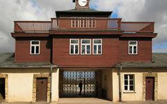 Ворота Бухенвальда. Фото Andreas Trepte с сайта wikipedia.org