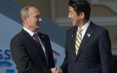 Владимир Путин и Синдзо Абэ © РИА Новости, Сергей Гунеев
