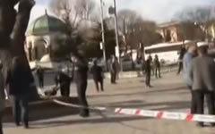 Место происшествия. Стоп-кадр с видео в YouTube