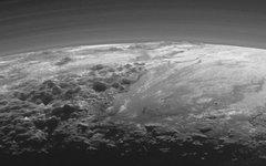 Закат на Плутоне. Фото с сайта nasa.gov