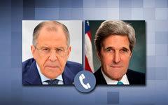 Лавров напомнил Керри об обязательстве США по Сирии