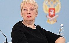 Ольга Васильева. Стоп-кадр с видео в YouTube