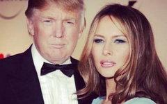 Дональд и Мелания Трамп. Фото с офстраницы Меланьи Трамп в Facebook