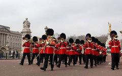 Фото со страницы Band of the Scots Guards в Facebook