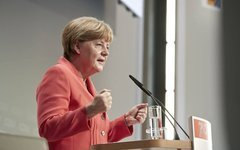 Ангела Меркель. Фото с личной страницы в Facebook