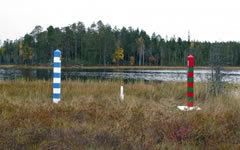 Российско-финляндская граница. Фото с сайта wikipedia.org