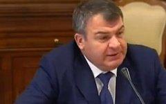 Анатолий Сердюков. Стоп-кадр видео с Youtube