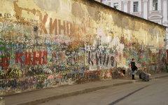 Стена Цоя. Фото Superchilum с сайта wikipedia.org
