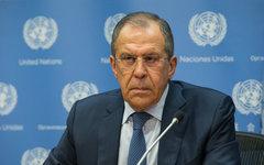 Сергей Лавров. Фото с сайта министерства иностранных дел РФ
